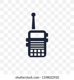 Militar Radio transparent icon. Militar Radio symbol design from Army collection.