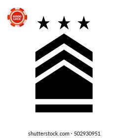 Military Badge Icon