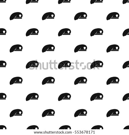Military beret pattern. Simple illustration of military beret vector pattern  for web 082f8db9072