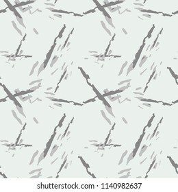 Military camouflage seamless pattern in ivory-white and different shades of grey color. Seamless repeat UFO camouflage pattern, usable as winter camoflauge urban print, bright backdrop, background etc