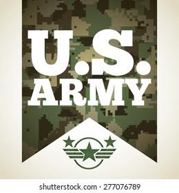 military emblem design, vector illustration eps10 graphic