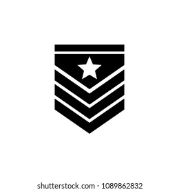 military epaulettes icon. Element of military for mobile concept and web apps. Detailed military epaulettes icon can be used for web and mobile. Premium icon on white background