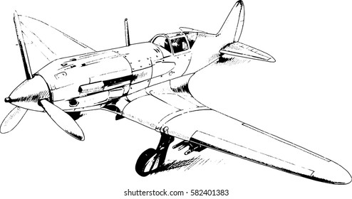 Similar Images Stock Photos Vectors Of Handdrawing Airplanes