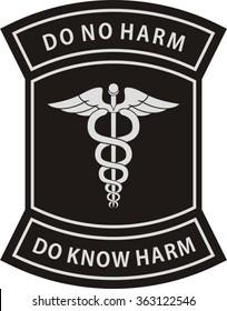 Military medic badge