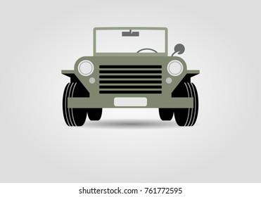 Military off road car
