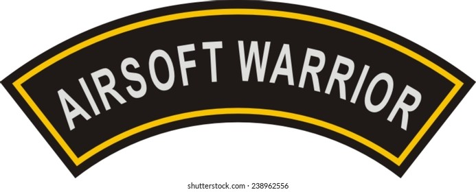 Military patch, airsoft patch