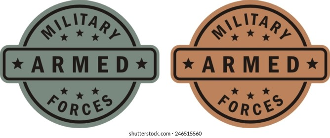 Military patch, beer coaster