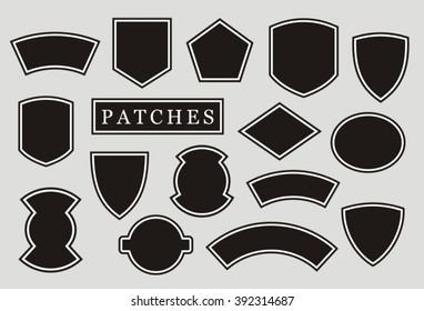 Military patch, biker patch