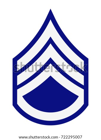 Military Ranks Insignia Stripes Chevrons Army Stock Vector Royalty