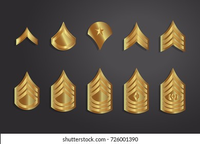 Army Rank Images, Stock Photos & Vectors | Shutterstock
