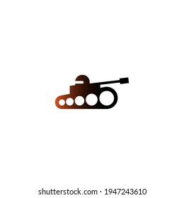 Military Tank, Army Tank icon logo design template vector