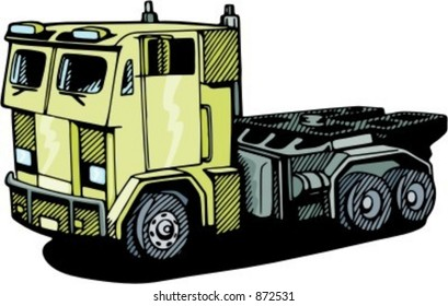 Military truck.