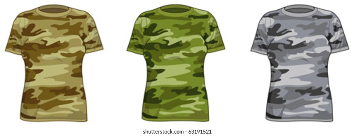 Military-style shirts for women 4347b7734
