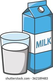 milk cartoon images stock photos amp vectors shutterstock