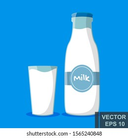 Milk. Healthy diet. Cow Naturally. For your design.