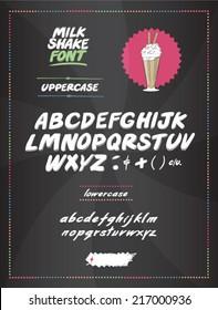 Milk Shake Font