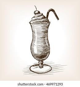 Milk Shake Sketch Images Stock Photos Vectors Shutterstock,Cooking Chestnuts On Open Fire
