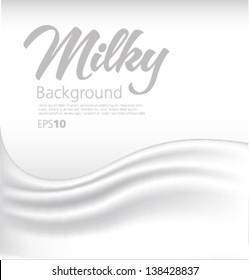 Milky background