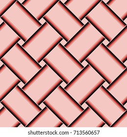 Millennial pink abstract pattern tile surface backdrop pattern
