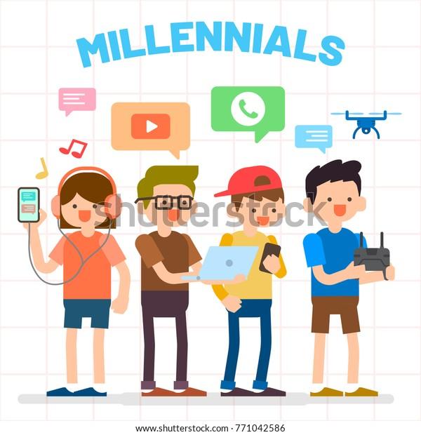 le branchement des Millennials
