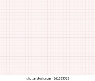 Millimeter paper, technical paper vector
