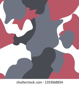 millitary vector red white grey background pattern textile
