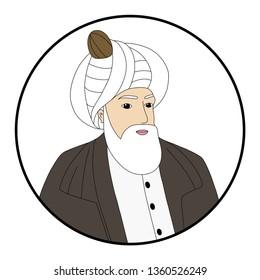 Mimar Sinan, Architect Sinan, ottoman, vector, istanbul, mosque architecture, Mimar Sinan vector, engineer Sinan, muslim, islamic, Sufi,  dervish, Ottoman architect,ramadan, dervis, dervishes