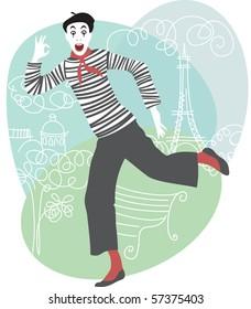 Mime in Paris