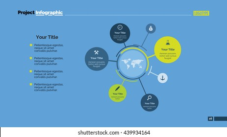 Mind Map Slide Template 1