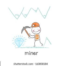 miner found a gem