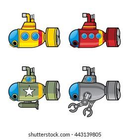 Mini Various Submarines