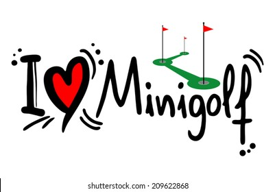 Minigolf love