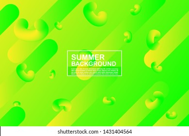 minimal abstract background. summer trendy colorful vector. design for brochure, web, banner and other creative design - vector eps 10