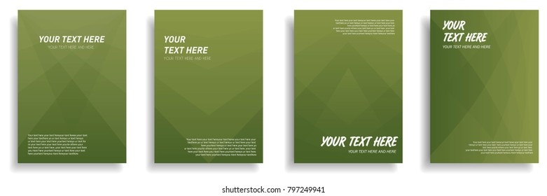 minimal cover design with dynamic colorful halftone gradient. vector template for brochure, flyer, presentation, leaflet, magazine in a4 size