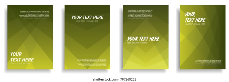 minimal cover design with dynamic colorful halftone gradient. vector template for poster, banner, presentation, leaflet, magazine, brochure in a4 size