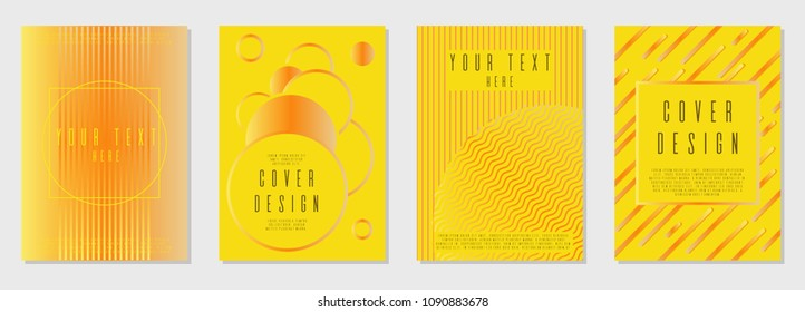 Minimal cover  design for your business. Text frame surface. Can be used for poster, brochure, magazine, card, book, flyer, banner, anniversary  Trendy corporate style.