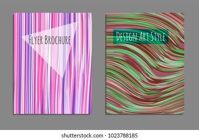 Minimal covers design. Bright colors. Future geometric template. Vector.