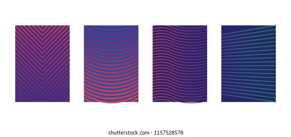 Minimal covers design, Colorful halftone Gradients, Future geometric patterns, 5K, Eps10 vector.