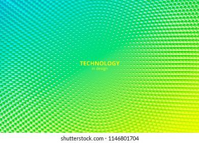 Minimal design background. Vector colorful halftone gradients. Futuristic geometric patterns. Vector granular texture