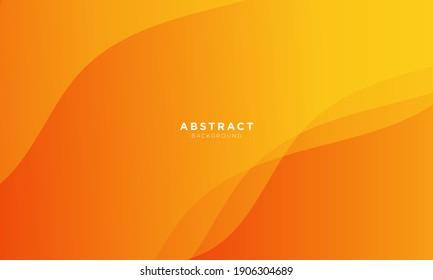 minimal dynamic gradient orange background gradient, abstract creative scratch digital background, modern landing page concept vector.