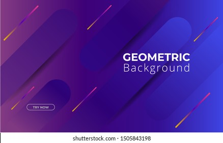 Minimal geometric background. Dynamic shapes composition. Eps10 vector
