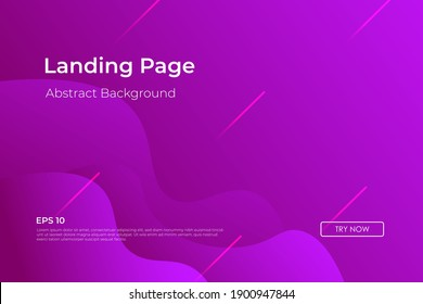 Minimal geometric purple abstract background, dynamic shape composition landing page backgrounds. eps10 vector