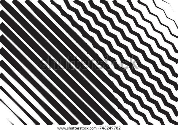 Minimal grey scale A4 cover design. Halftone blend vector diagonal lines or stripes business background. Horizontal simple cover for presentation, network, computer technology clean poster background.