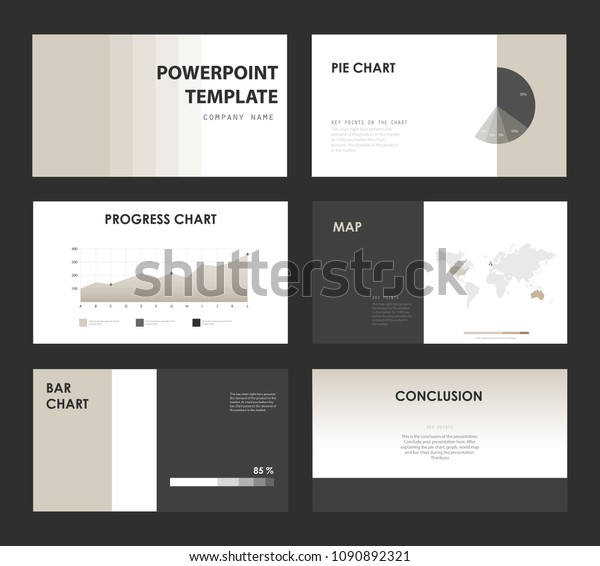 Minimal Powerpoint Template Stock Image Download Now