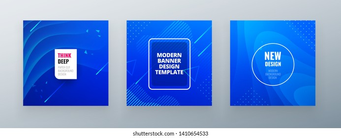 Minimal square banner design. Colorful halftone gradients. background modern template design for web. Cool gradients. Future geometric patterns.