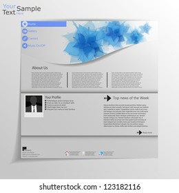 Minimal web site Template