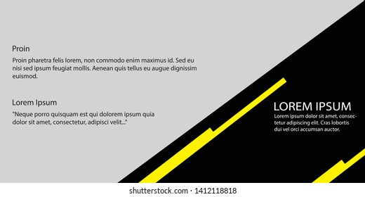 minimalis banner vector design graphic design