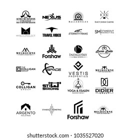 minimalis logo vector