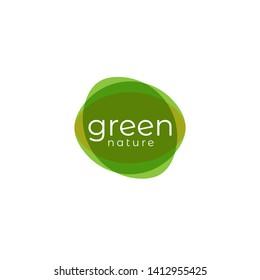 Minimalis nature, leaf, flower, beauty, logo inspiration.- Eps10 Vector