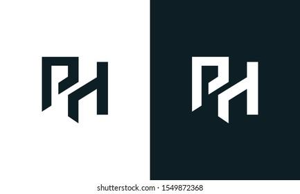 Ph Monogram Images Stock Photos Vectors Shutterstock